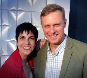 """Phyllis with Peter Maddison from """"Grand Designs Australia"""""""